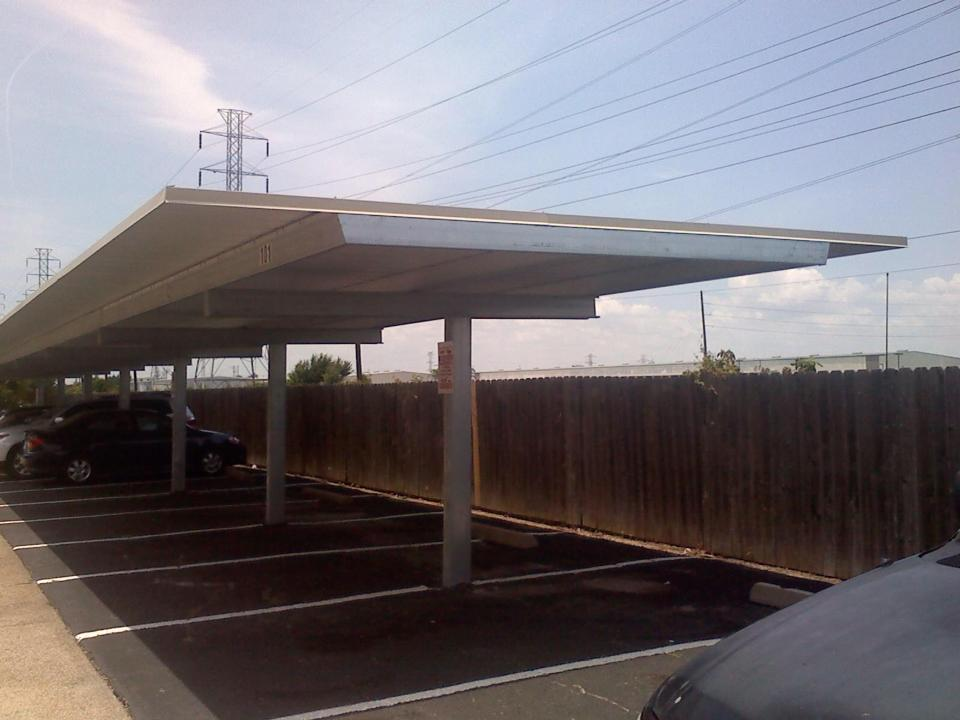 Cantilever Carport Apartment Carport